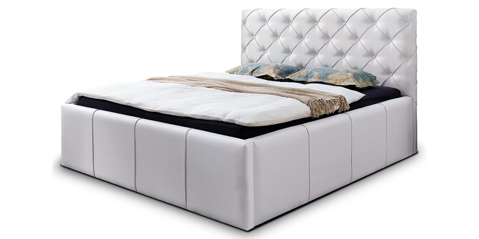 bett mit simple bett mit with bett mit roma boxspring. Black Bedroom Furniture Sets. Home Design Ideas